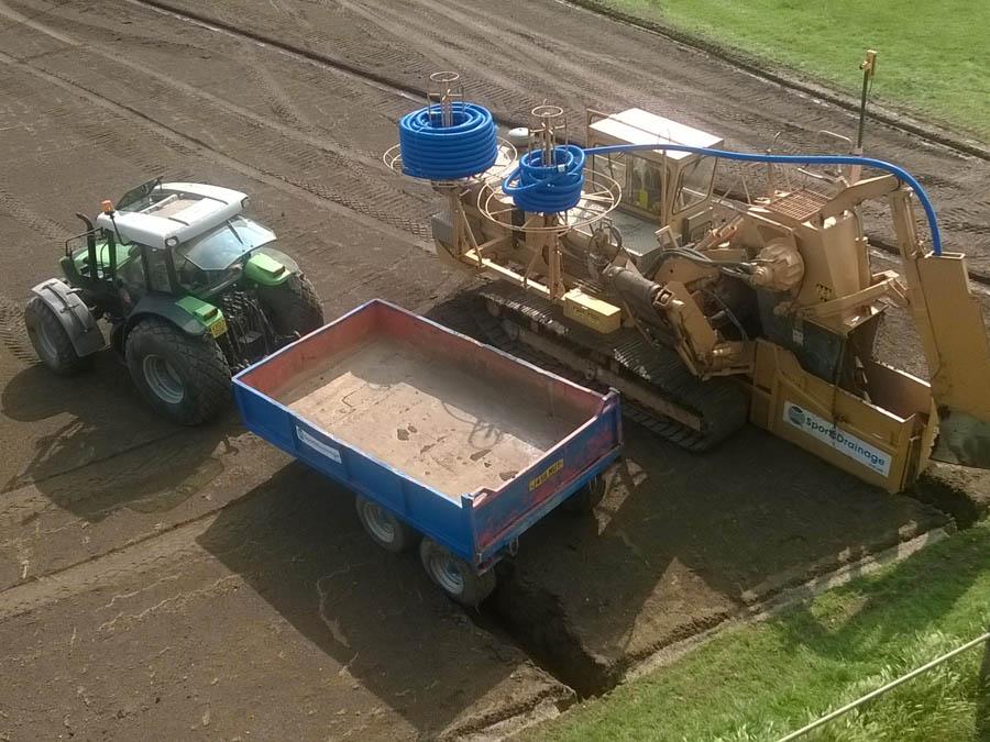 Farm Services Ltd  : Drainage Contracts